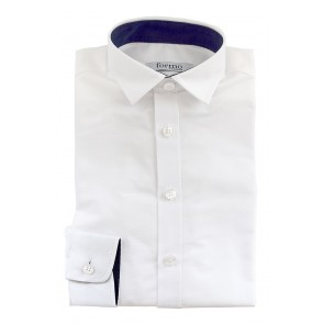 Meeste triiksärk, valge